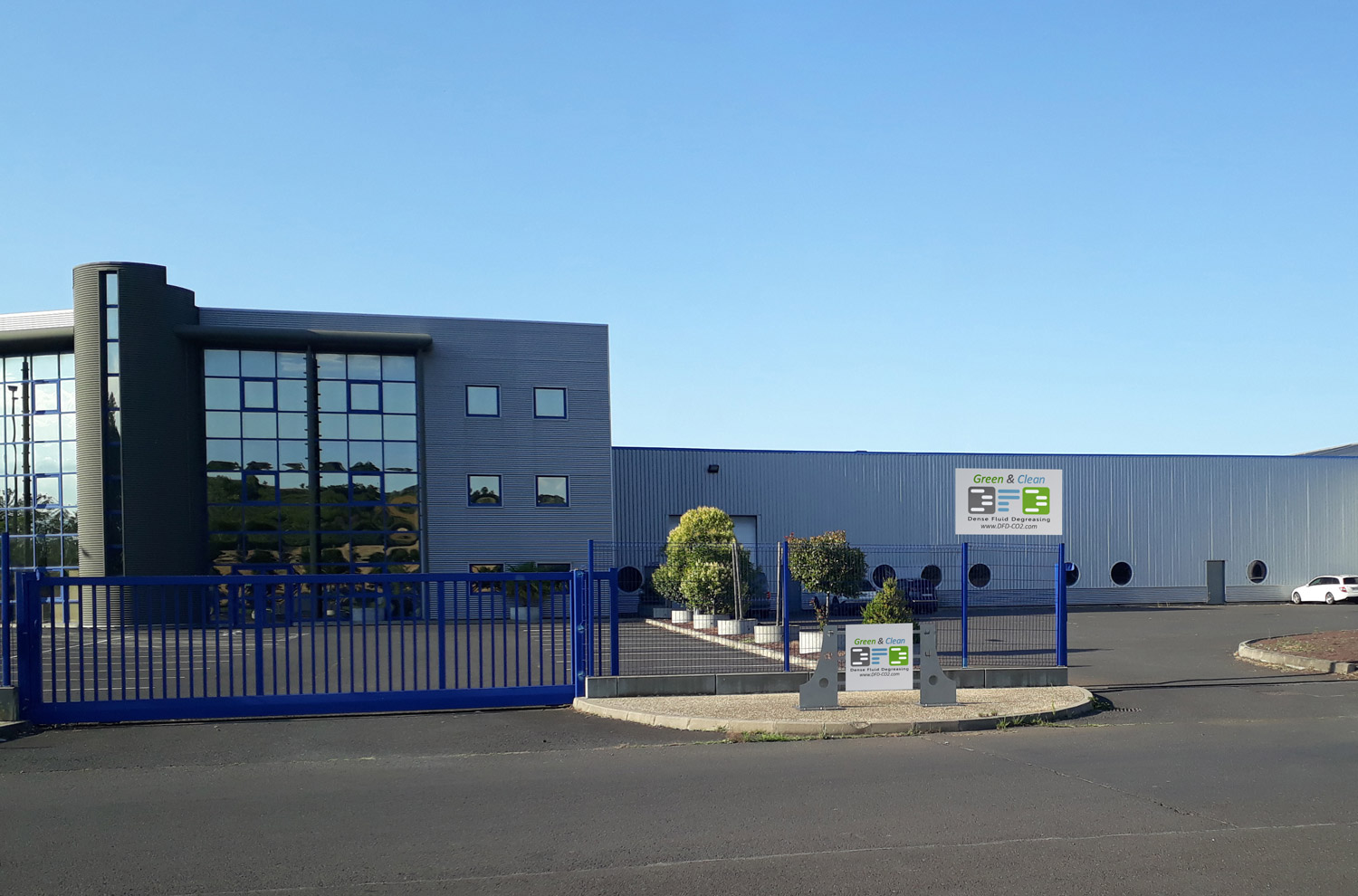 Building of the company Dense Fluid Degreasing in Clermont Ferrand