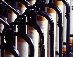 Bobine de fil à désensimer - dense fluid degreasing